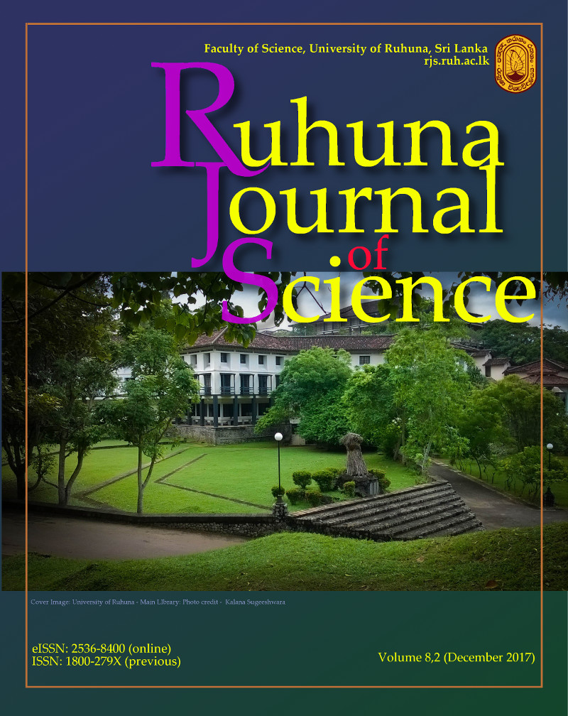 University of Ruhuna - Main Library